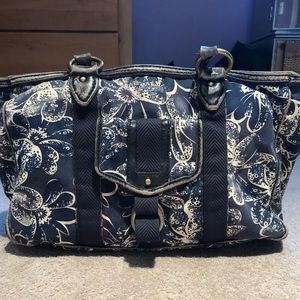 Marc by Marc Jacobs's floral distressed tote